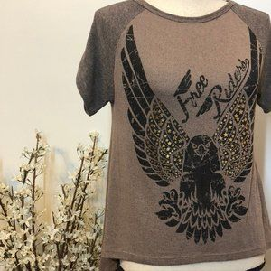 Maru Free Riders Eagle High Low Top Small